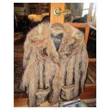 Bill Blass Fox hip length jacket Sullivan of Gross