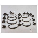 Vintage Cast Iron Drawer Puls