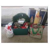 Lot Christmas Wreath, Misc.