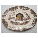 Turkey Serving Platter Made in Japan