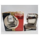 Boston Pencil Sharpener w/ Original Box