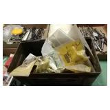 Military Ammo Box With John Deere parts