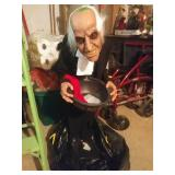 3 Ft Halloween Butler. Needs Batteries But Works