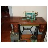 Vintage Brother Sewing Machine Machine made in