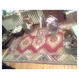 Tribal Rug ONLY NO CONTENTS