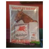 "Mobilgas Salute To ""Big Red"" Ad"