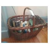 Wicker Basket With Booms