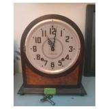 Plymouth Mantle Clock. Works But Does Need Some
