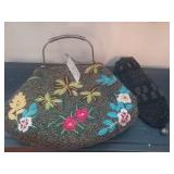 2 Heavenly Beaded Womens Bags