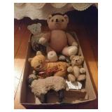 Vintage/rustic Style Stuffed Animals