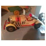 Antique Excalibur Tin Race Car Toy