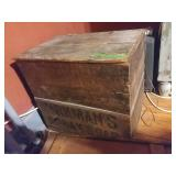 Kirmans Borax Box With Books