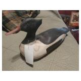 Carved Duck Decoy