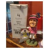 John Court Ellis Park Bobblehead Jockey And