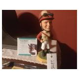 Julie Krone Hollywood Park Bobblehead Jockey And