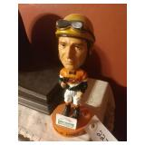 Earlie Fired Hawthorne Race Course Bobble Head