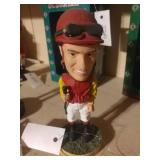 Sandy Hawley Woodbine 2002 Bobblehead Jockey