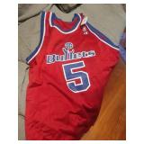 Bullets Howard #5 Signed Basketball Jersey