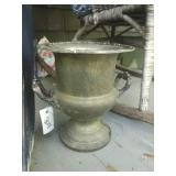 "10"" Tall Brass? Urn"
