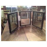 Triple Dresser Beveled Mirror