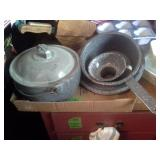 Antique Grey Enamelware