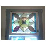 Stained Glass Hanging Window