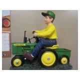 John Deere Boy on Tractor