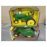 """1/16 John Deere Model 60 Orchard & Model """"H"""""""