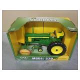 1/16 John Deere Model 520 plus bonus tractor