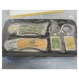 John Deere Collectors set Knives and key fobs