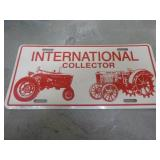 International Collectors tag