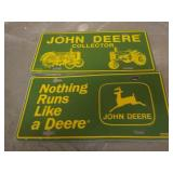 2) John Deere Collectors Tags
