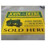 Sign – John Deere Sold Here