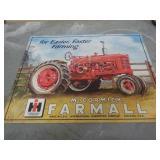 Sign – McCormick Farmall Easier Faster Farming
