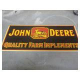 Sign – John Deere Quality Farm Implements