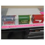 3) Tin locking mail box banks