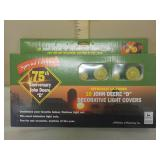 10 John Deere D decorative light covers