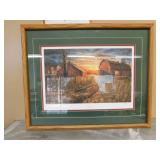 """Framed JD Wall Hanging - """"Days Gone By"""" - Hansel"""