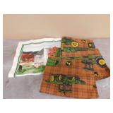 3- JD Valance Curtains & 2004 Fabric Calendar