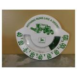 """JD Thermometer - """"Nothing Runs Like a Deere"""""""