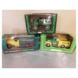 JD X-mas Wagon, Tanker Bank, & Pickup Truck
