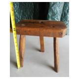 3 leg wooden stool