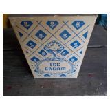 One quart Ice Cream Carton