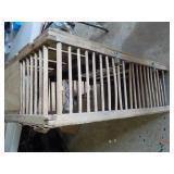 Wooden Chicken Cage