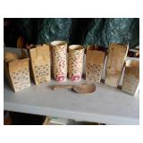 Ice Cream Boxes & Cups with Wooden Scoop