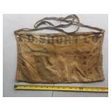 I.D. Short Co. nail apron