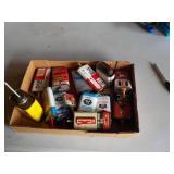 Thirteen Oil Cans