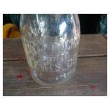 One quart Milk Jar