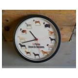 Purina Dog Clock