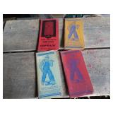 Four Pocket Ledgers